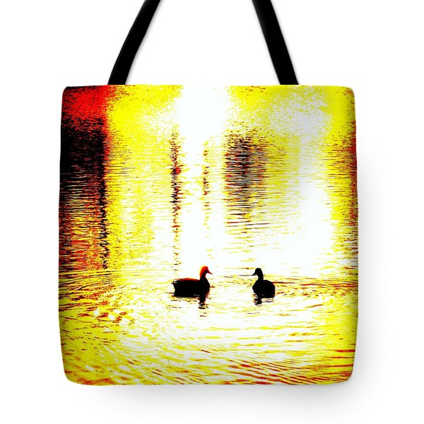 You Light Up My Life  Tote Bag by Hilde Widerberg