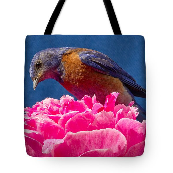 You Move And I Have My Lunch Tote Bag by Jean Noren