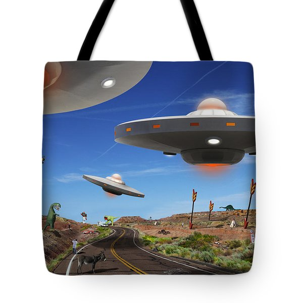 You Never Know . . . 5 Tote Bag by Mike McGlothlen