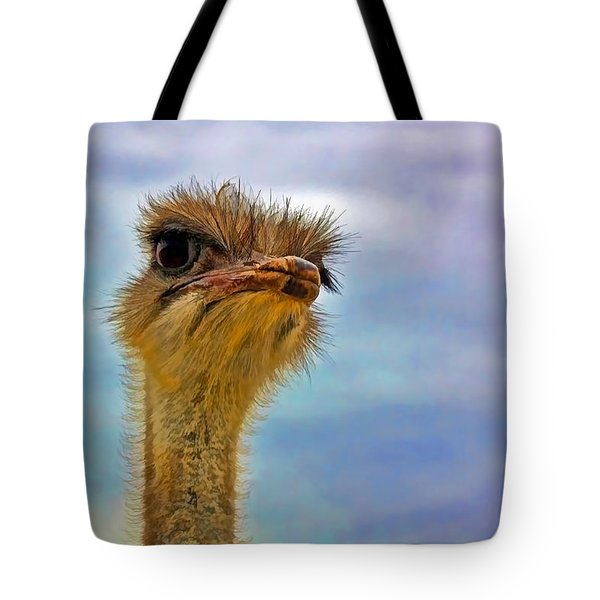 You Talkin To Me Tote Bag by Gary Holmes