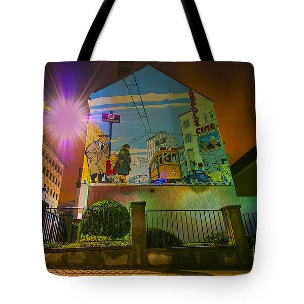 Young Albert Tote Bag by Juli Scalzi