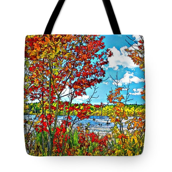 Young And Brash Paint Tote Bag by Steve Harrington