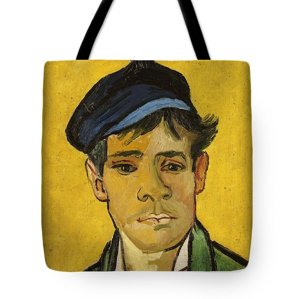 Young Man With A Hat Tote Bag by Vincent Van Gogh