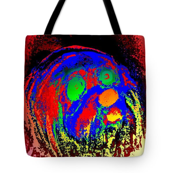 Young Troll Groving Up Tote Bag by Hilde Widerberg