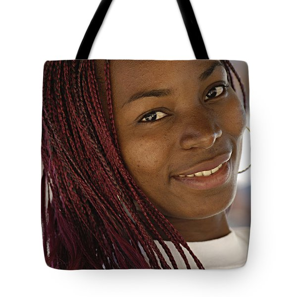 Young Woman Costa Rica Tote Bag by Bob Christopher