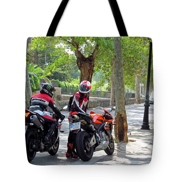 Your Backpack Was Not Safe Tote Bag by Tina M Wenger
