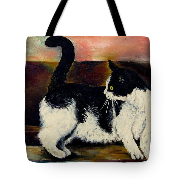 Your Pets Commission Me To Paint Tote Bag by Carole Spandau