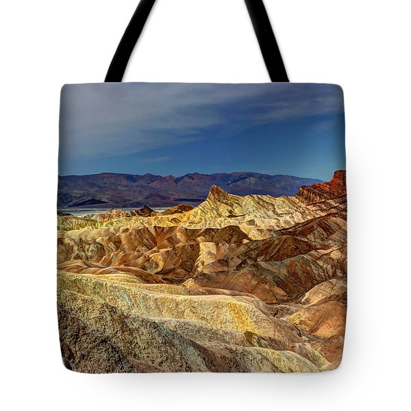 Zabriskie Point Tote Bag by Heidi Smith