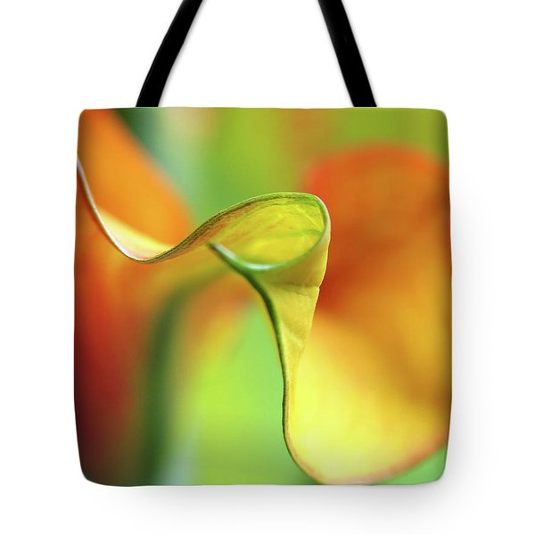Zantedeschia Tote Bag by Juergen Roth