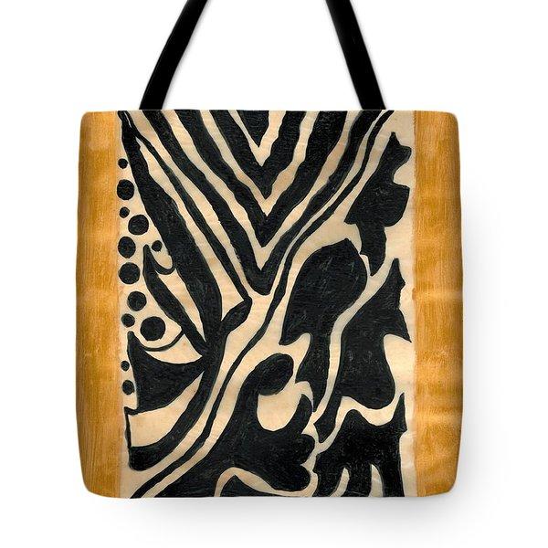 Zebra Tote Bag by Carla Sa Fernandes