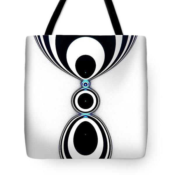 Zebra Jewels Tote Bag by Anastasiya Malakhova