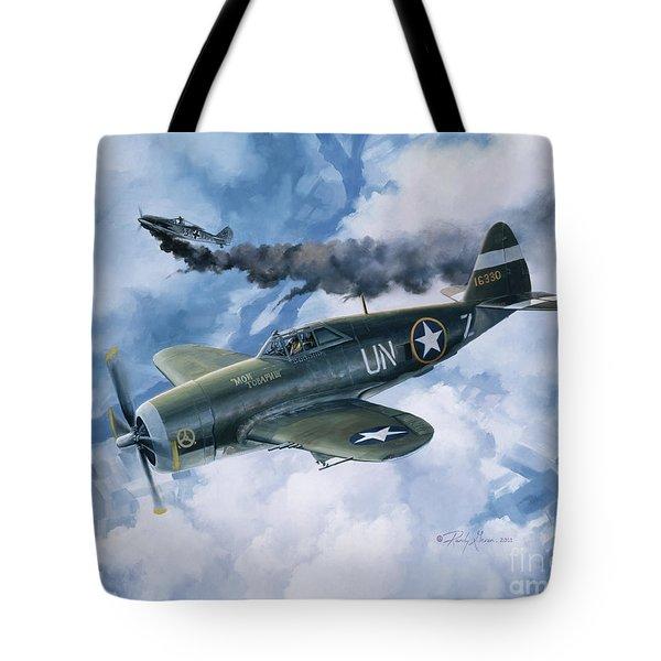 Zemke's Thunder Tote Bag by Randy Green