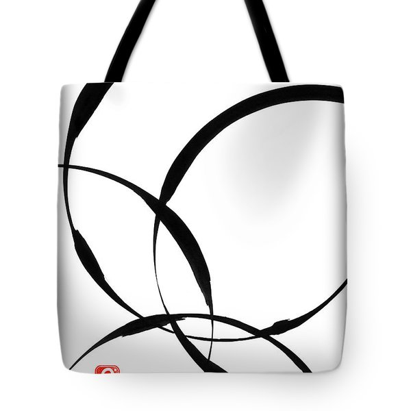Zen Circles 2 Tote Bag by Hakon Soreide