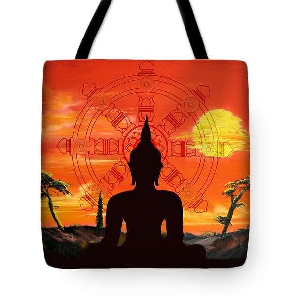 Zen Tote Bag by Corporate Art Task Force
