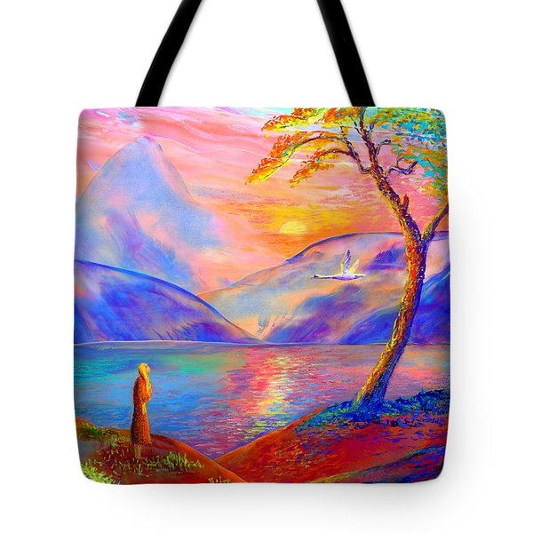 Zen Tote Bag by Jane Small