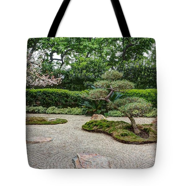 Zen Rock Garden Tote Bag by Heidi Smith