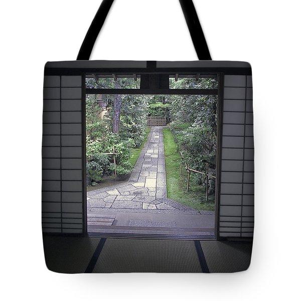 ZEN TEA HOUSE DREAM Tote Bag by Daniel Hagerman