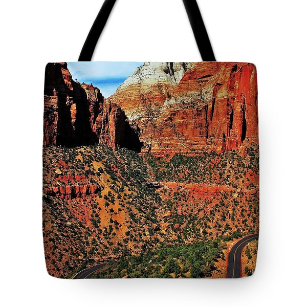 Zion Hairpin Tote Bag by Benjamin Yeager
