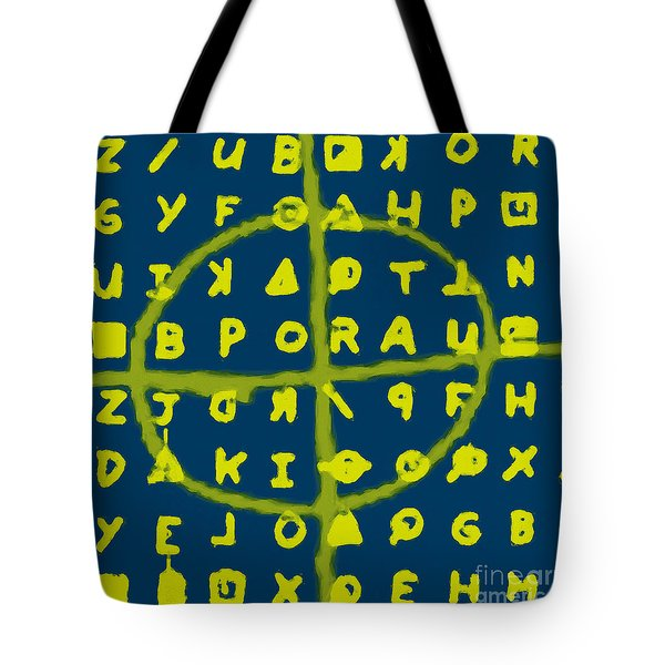 Zodiac Killer Code and SIgn 20130213p68 Tote Bag by Wingsdomain Art and Photography
