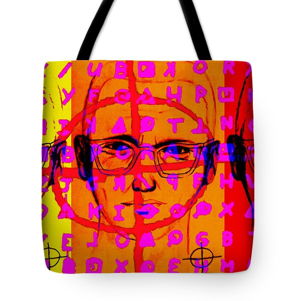 Zodiac Killer Three With Code and SIgn 20130213 Tote Bag by Wingsdomain Art and Photography