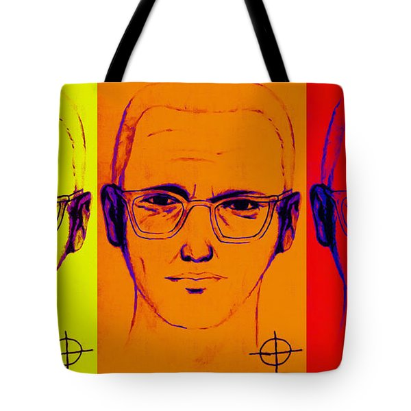 Zodiac Killer Three With Sign 20130213 Tote Bag by Wingsdomain Art and Photography