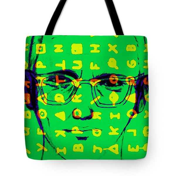 Zodiac Killer With Code and SIgn 20130213 Tote Bag by Wingsdomain Art and Photography