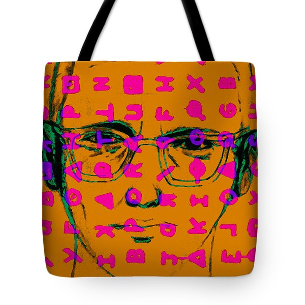 Zodiac Killer With Code and SIgn 20130213m80 Tote Bag by Wingsdomain Art and Photography