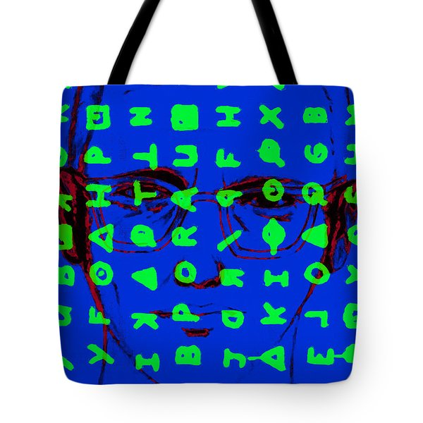Zodiac Killer With Code and SIgn 20130213p98 Tote Bag by Wingsdomain Art and Photography