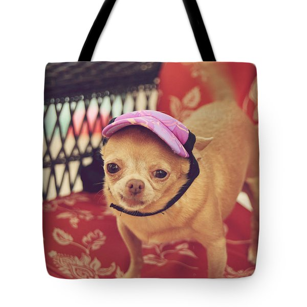 Zoe's Visor Tote Bag by Laurie Search