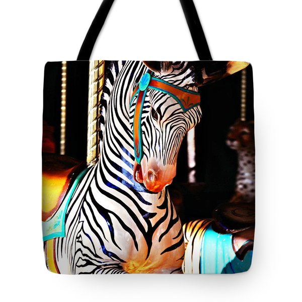 Zoo Animals 3 Tote Bag by Marty Koch