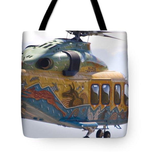 Zoo Landing Tote Bag by Paul Job