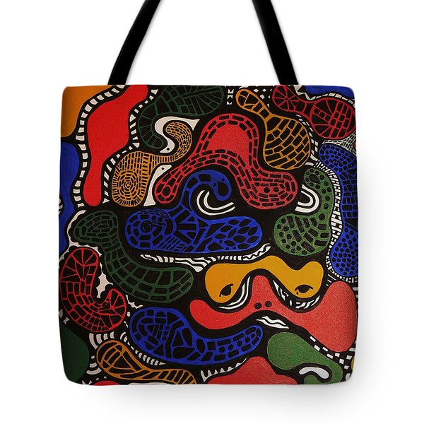 Zoomed In Tote Bag by Barbara St Jean