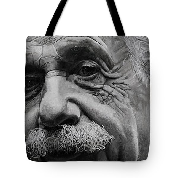Zytgloggenrichter- Albert Einstein Tote Bag by Simon Kregar
