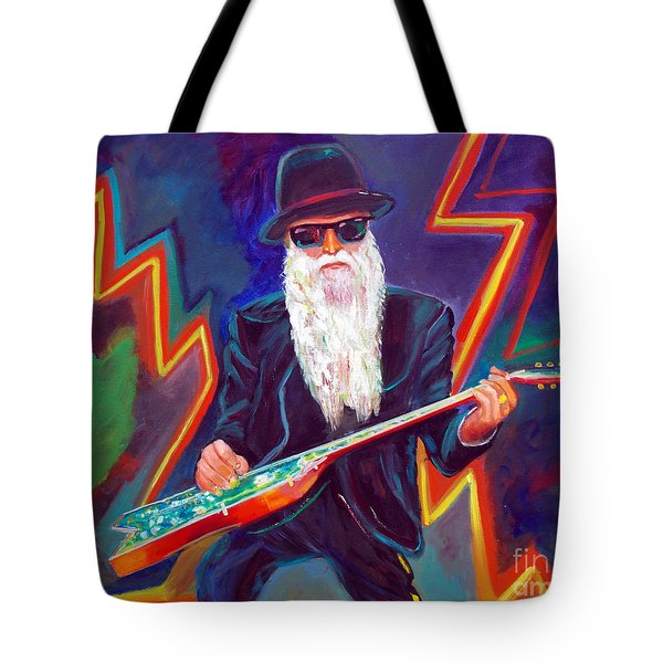 Zz Top 3 Tote Bag by To-Tam Gerwe