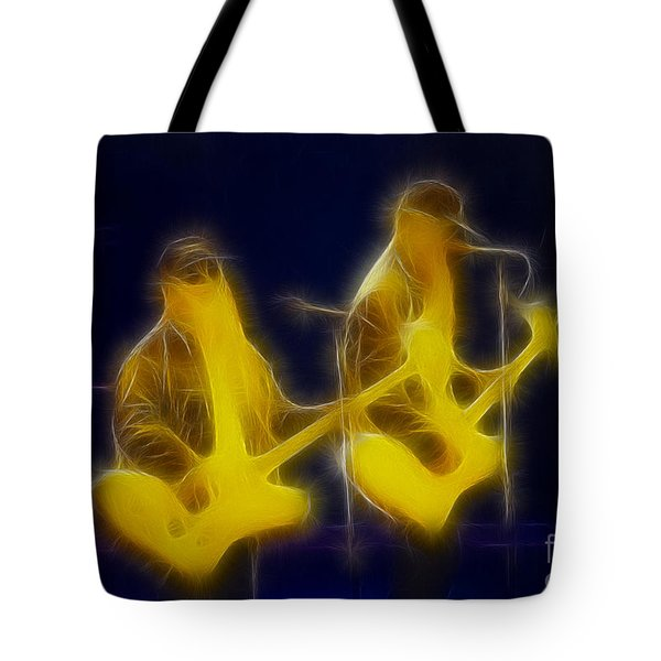 Zz Top-ant-ge8a-fractal Tote Bag by Gary Gingrich Galleries