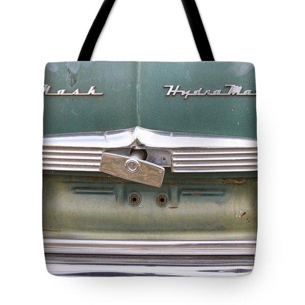 1951 Nash Ambassador Hydramatic Back Tote Bag by James BO  Insogna