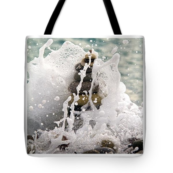 balance and energy Tote Bag by Stylianos Kleanthous