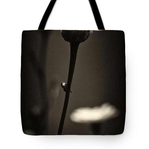 Dark Daisy  Tote Bag by Stelios Kleanthous