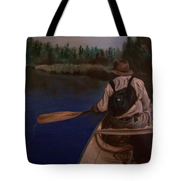 New Discovery Tote Bag by Joyce Reid