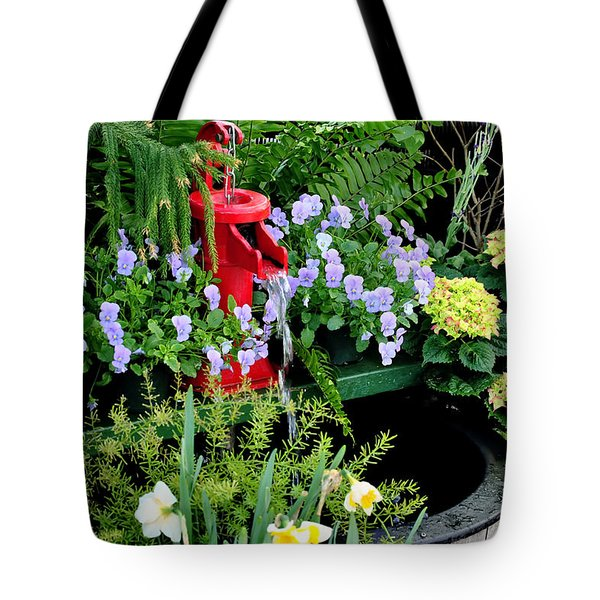 0021 Botanical Gardens Buffalo Ny Series Gardens Tote Bag by Michael Frank Jr
