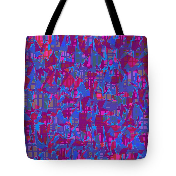 0671 Abstract Thought Tote Bag by Chowdary V Arikatla