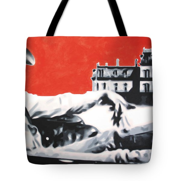 - Giant - Tote Bag by Luis Ludzska