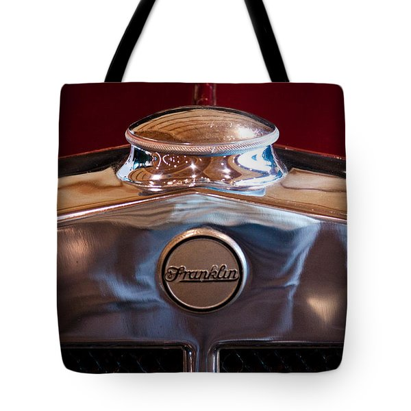 1929 Franklin Model 130 2-door Coupe Tote Bag by David Patterson
