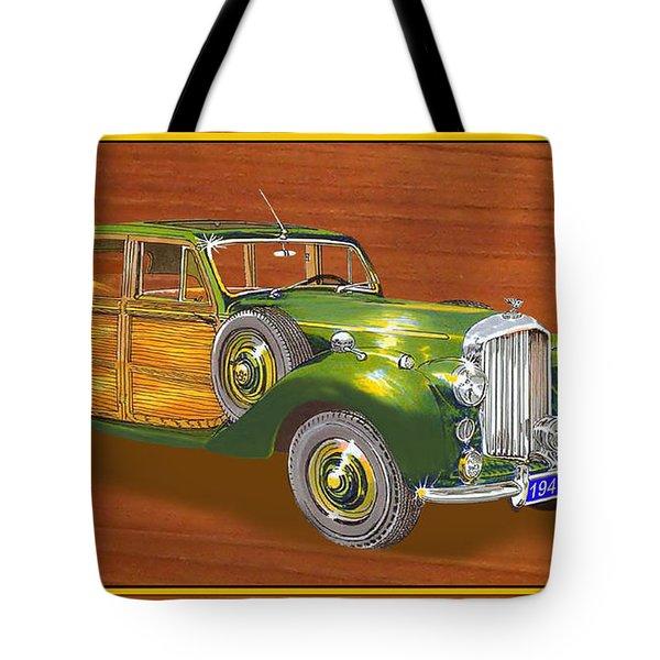 1947 Bentley Shooting Brake Tote Bag by Jack Pumphrey