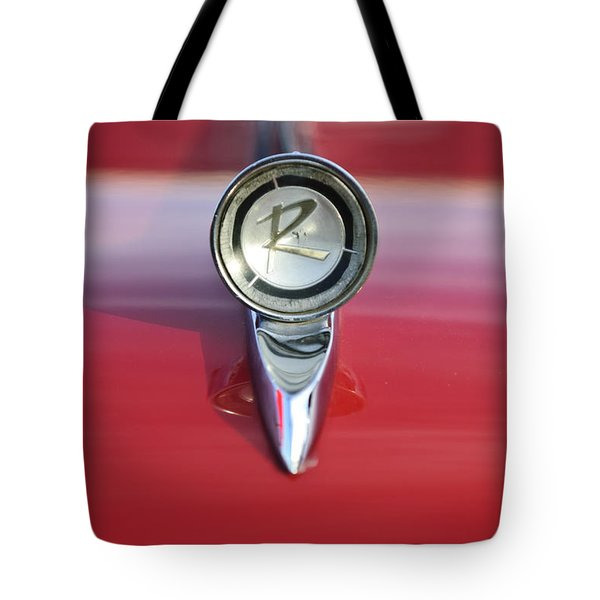 1961 Rambler Hood Ornament Tote Bag by Jill Reger