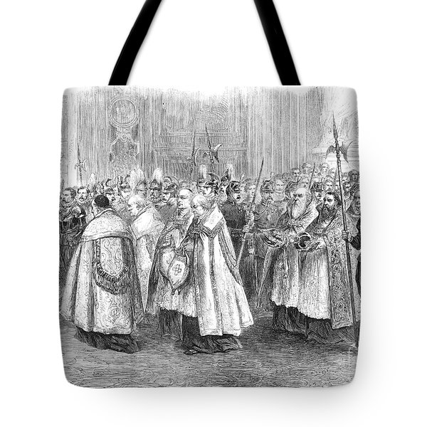 1st Vatican Council, 1869 Tote Bag by Granger