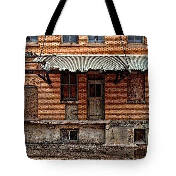 Abandoned Warehouse Tote Bag by Jill Battaglia
