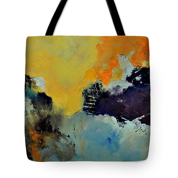 Abstract 8821013 Tote Bag by Pol Ledent