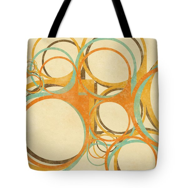 abstract circle Tote Bag by Setsiri Silapasuwanchai