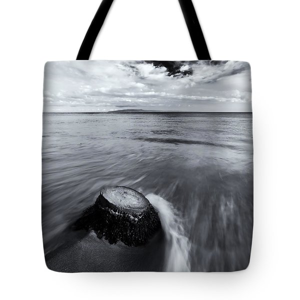 Against The Tides Tote Bag by Mike  Dawson
